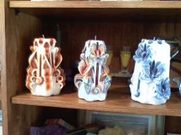 Turtle Island Gifts - carved candles