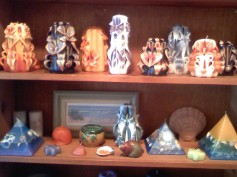 Turtle Island Gifts - a wide variety of beautiful candles made right her in the shop
