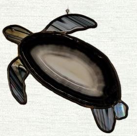 Turtle Island Gifts - Agate Turtle