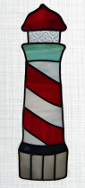 Turtle Island Gifts - Stained Glass Lighthouse