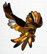 Turtle Island Gifts - Stained Glass Owl