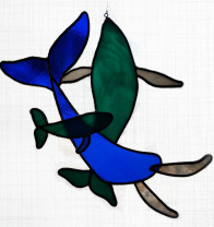 Turtle Island Gifts - Stained Glass Whales